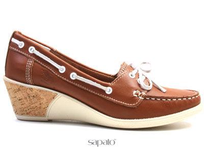 Туфли El Tempo PU4 586 COGNAC-1019 Туфли жен El Tempo коричневые