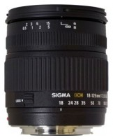 Sigma AF 18-125mm f/3.5-5.6 DC Nikon F