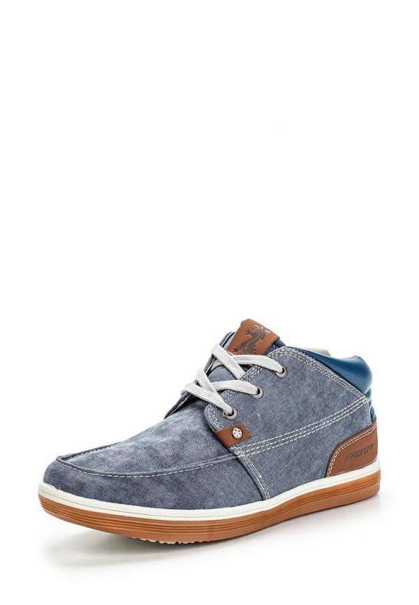 Ботинки FRONT by ASCOT FR 7200 TRENTO голубые