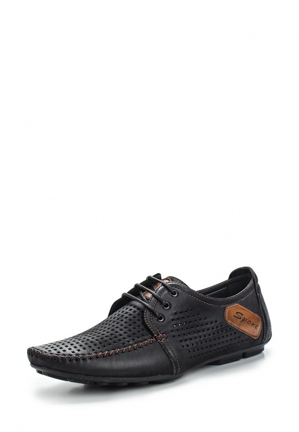 Туфли Stesso 604-0096B-3A чёрные