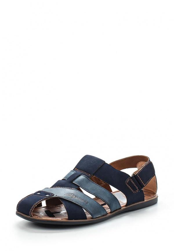 Сандалии Stesso 604-00A4G-3A синие