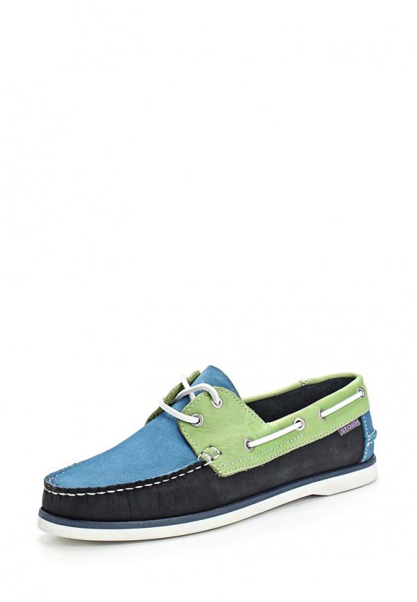 Топсайдеры Storm 107 голубые, зеленые, синие
