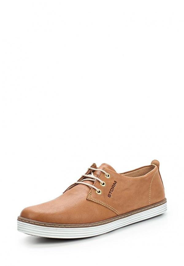 Туфли Storm 6007 коричневые
