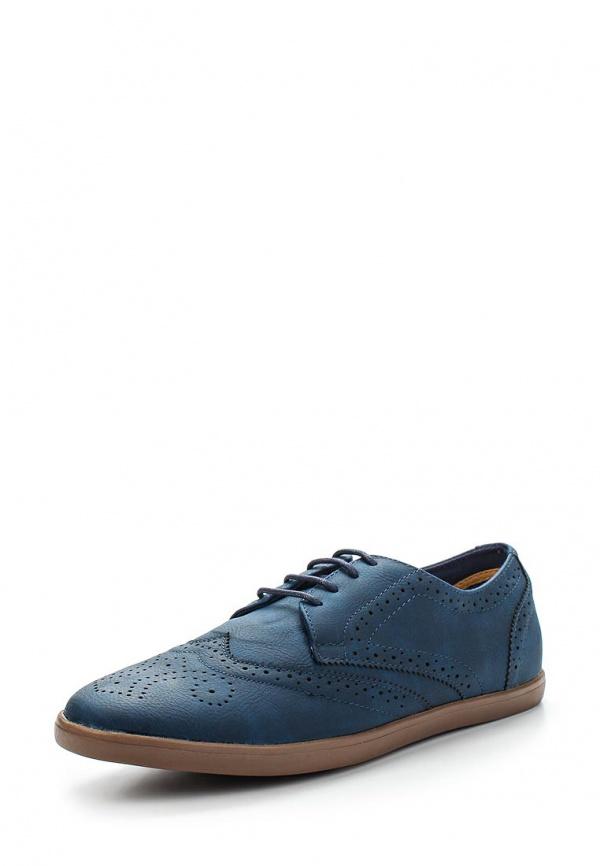 Туфли FRONT by ASCOT FR 7151 ASHCROFT синие