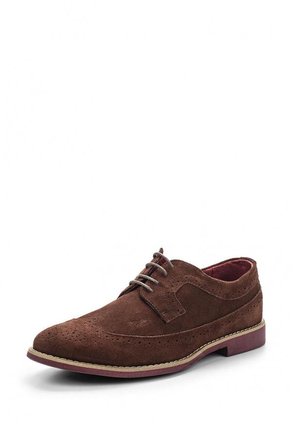 Туфли FRONT by ASCOT FR 7172 STANLEY коричневые