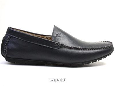 Ботинки El Tempo RM27 075-01-35 NAVY Мокасины муж El Tempo синие