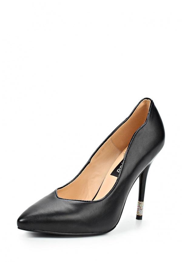 Туфли Burlesque HRMH-D1 чёрные