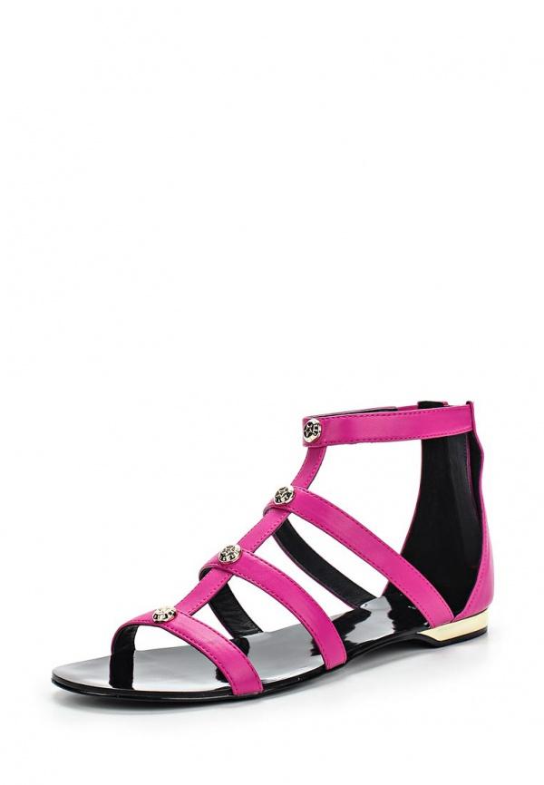 Сандалии Versace Jeans E0VLBS02 розовые