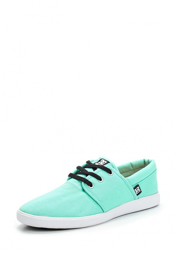 Кеды DC Shoes ADJS700016 зеленые