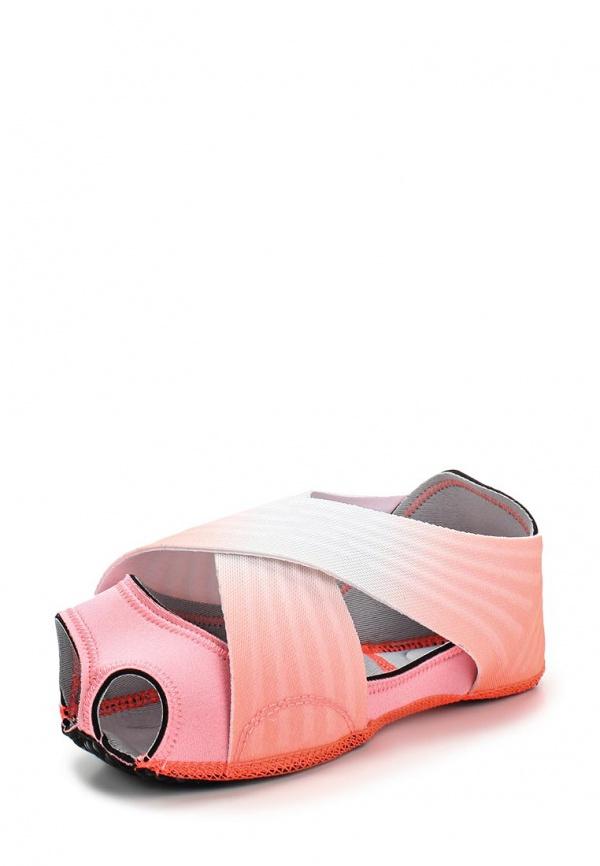 Балетки Nike 684864-601 белые, розовые