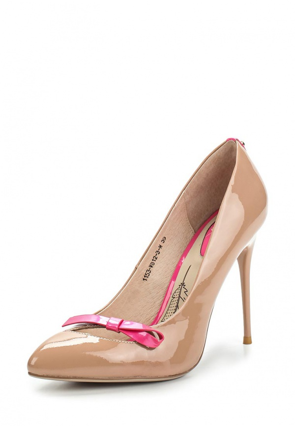Туфли Sinta 1153-W812-3-M бежевые