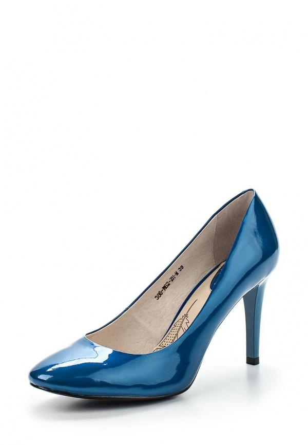 Туфли Sinta 386-W62-2H-M синие