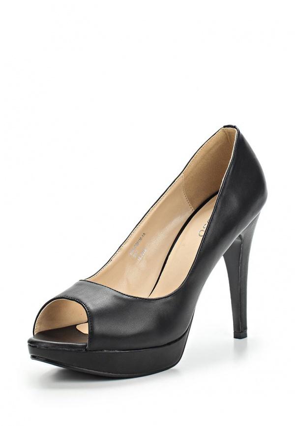 Туфли Stesso 60A-0081M-1A чёрные