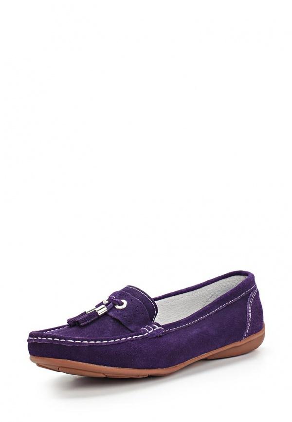 Мокасины Dodgio 60A-007ZB-1C фиолетовые