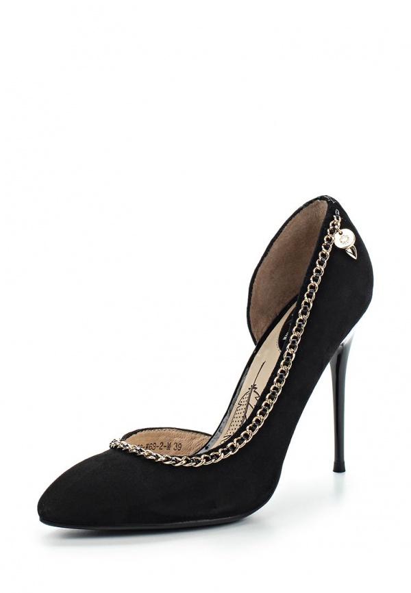 Туфли Sinta 1153-W68-2-M чёрные