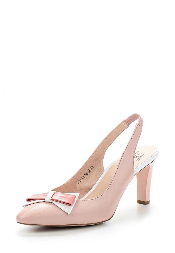 Босоножки Sinta 120-15-S6-M розовые