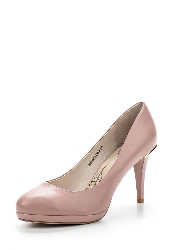 Туфли Sinta 389-W61-7H-M бежевые