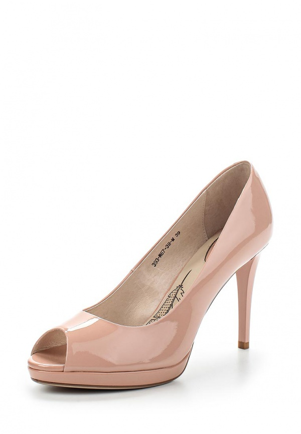 Туфли Sinta 393-W67-3H-M бежевые