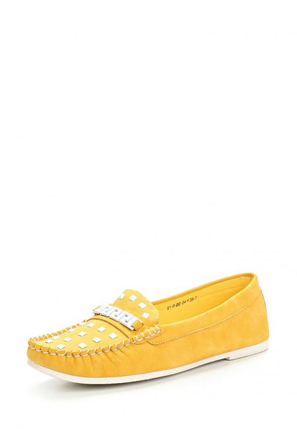Мокасины Wilmar 51-R-BE-04 Y жёлтые