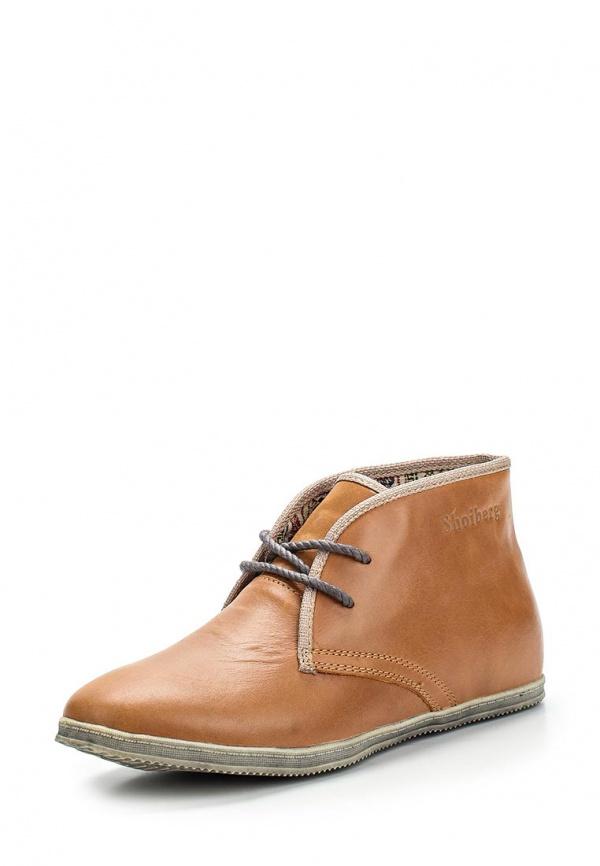 Ботинки SHOIBERG 427-12-03-09 коричневые
