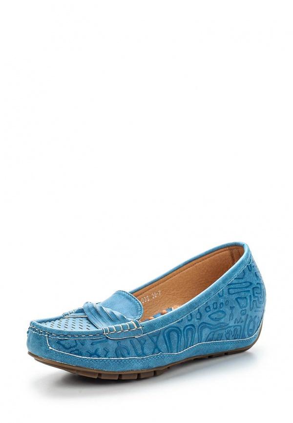 Мокасины Wilmar 51-PZ-03 S синие