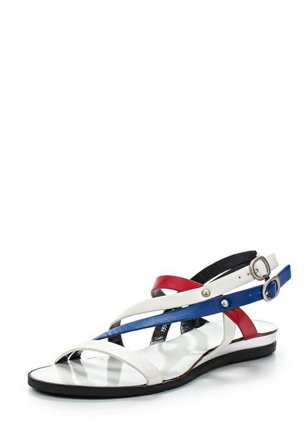 Сандалии Yaro Y51-FU-05 B белые, красные, синие
