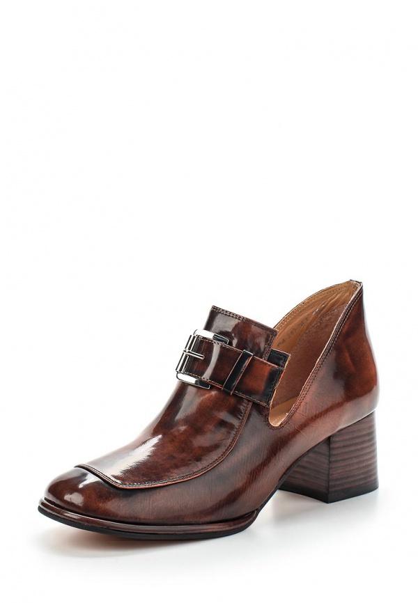 Лоферы Yaro YS4-249-04 K коричневые