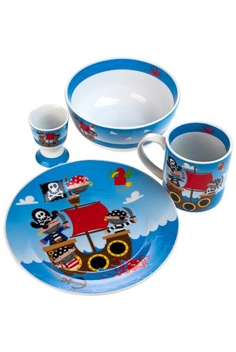 """Столовые наборы Красный куб Набор для завтрака """"Пират"""""""