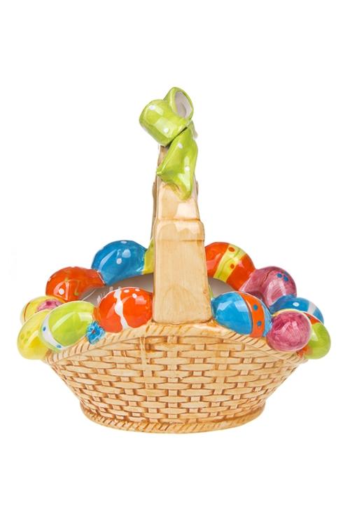 """Кухонные аксессуары Красный куб Корзинка для яиц декор. """"Яркая Пасха"""""""