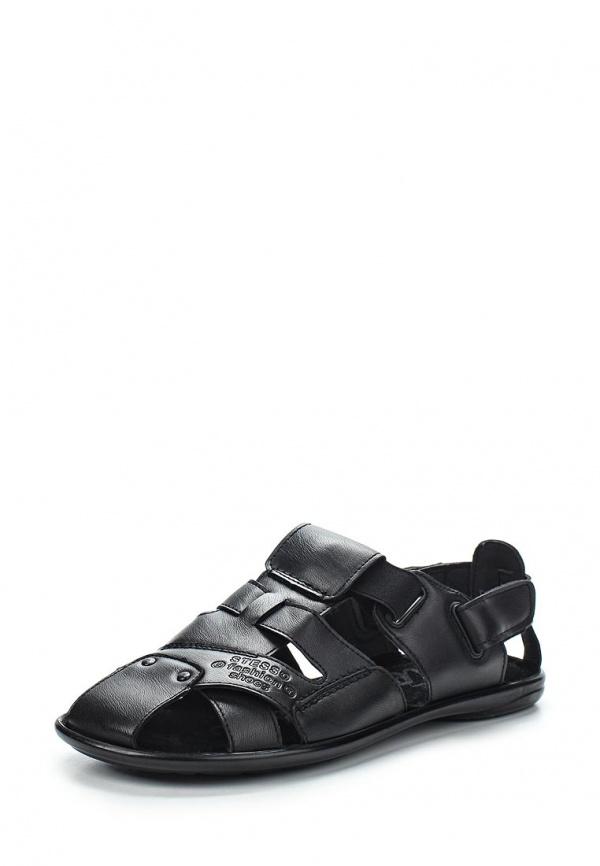Сандалии Stesso 601-008MP-3A чёрные