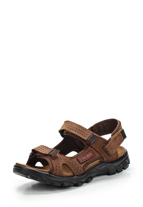 Сандалии Strobbs C2137-12 коричневые
