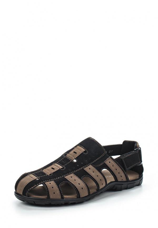Сандалии Wilmar 51-R-EL-04 A коричневые, чёрные