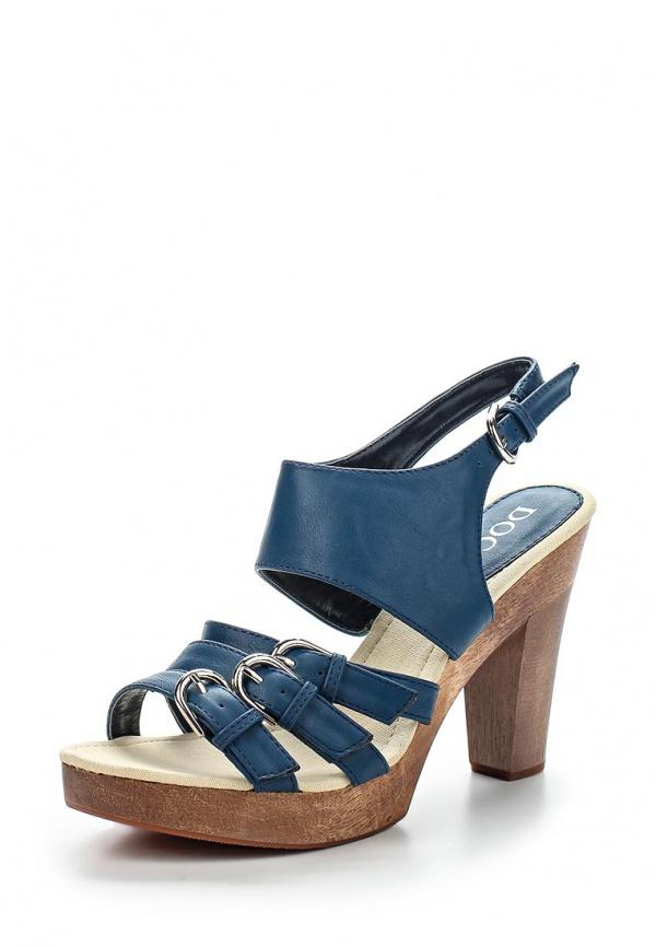 Босоножки Doca 71207 синие