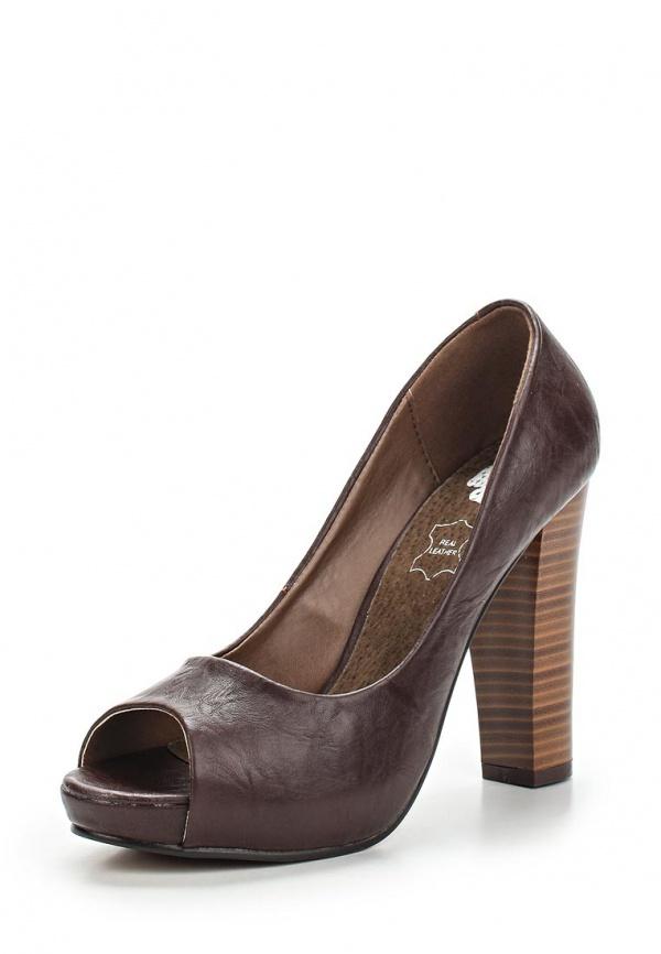 Туфли Doca 72118 коричневые