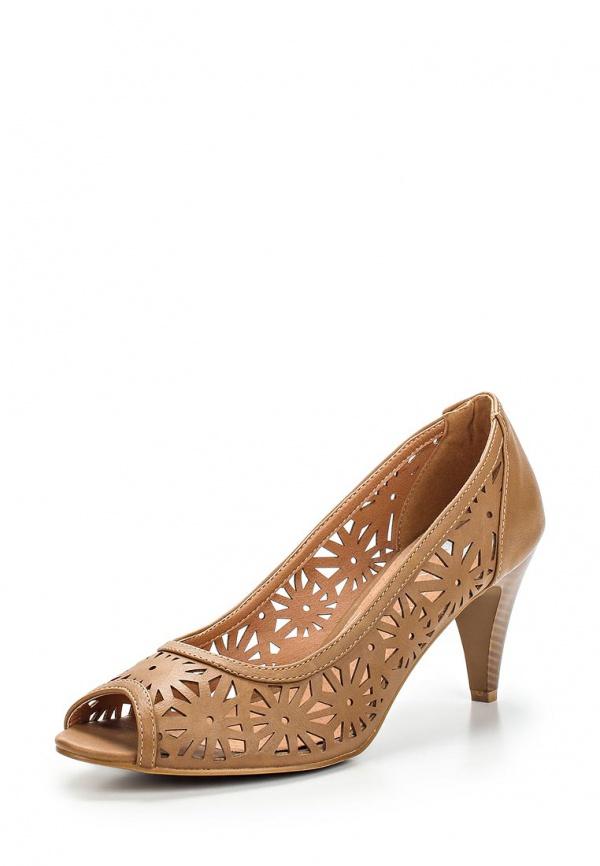 Туфли Doca 72132 коричневые