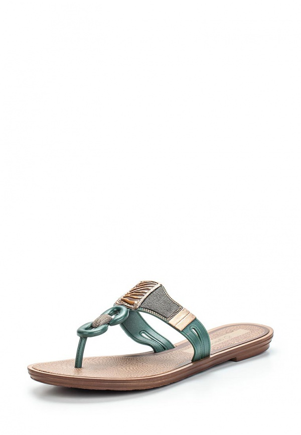 Сланцы Grendha 81649-90064-A зеленые, коричневые