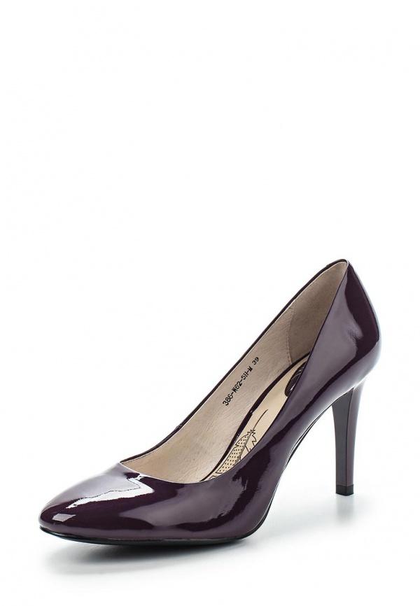Туфли Sinta 386-W62-5H-M бордовые