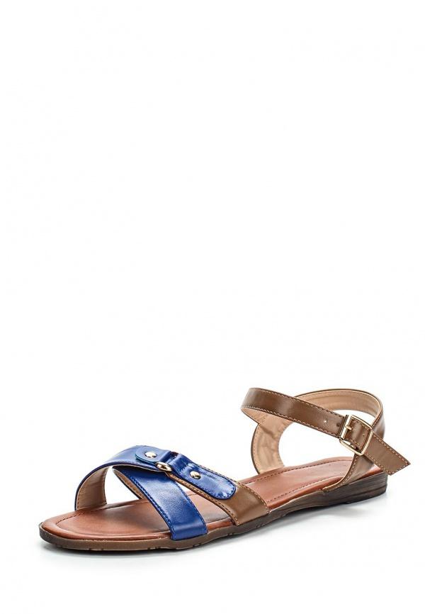 Сандалии Sinta 602-2-2-M коричневые, синие