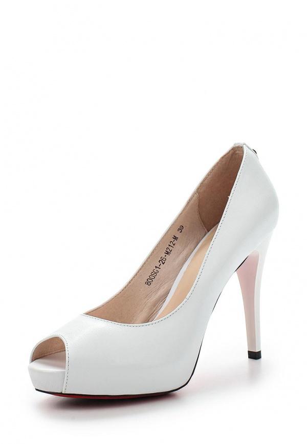 Туфли Sinta 800SG1-26-M212-M белые