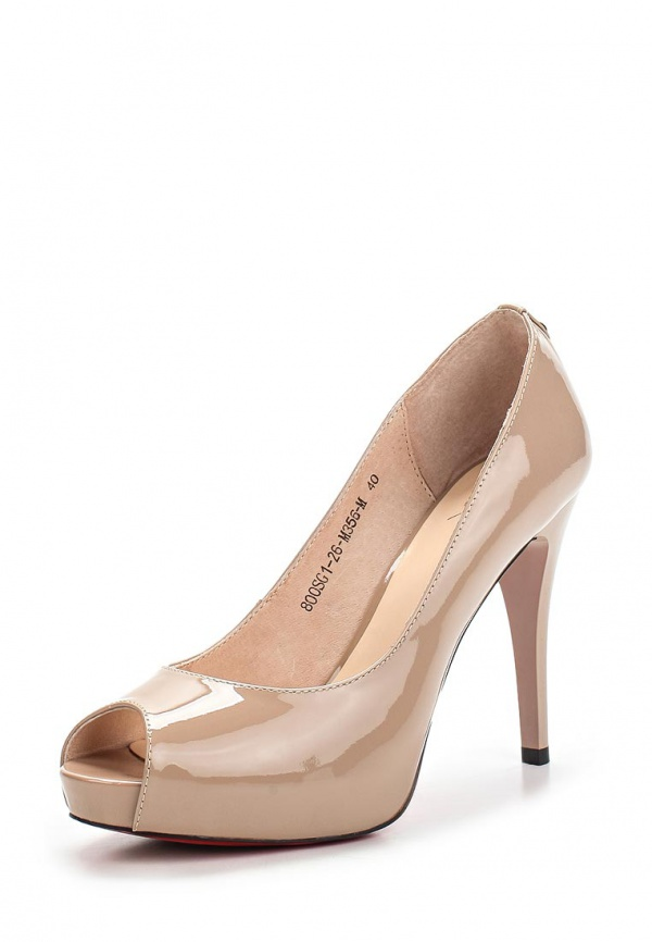 Туфли Sinta 800SG1-26-M356-M бежевые