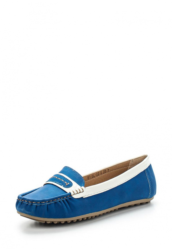 Мокасины Wilmar 51-SL-02 S синие