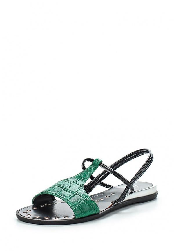 Сандалии Yaro Y51-FW-04 A зеленые, чёрные
