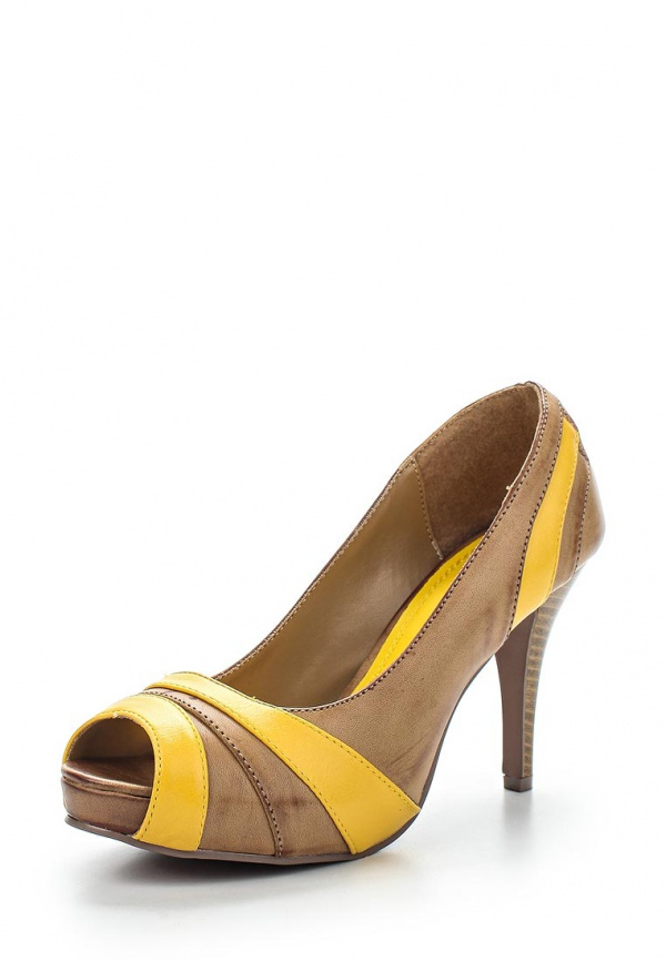Туфли Doca 71022 бежевые