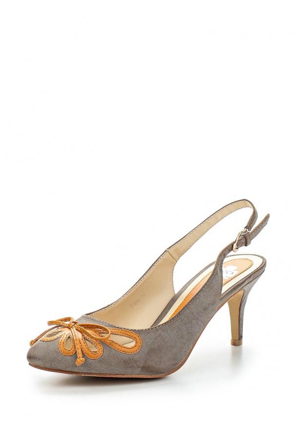 Босоножки Doca 71896 оранжевые, серые