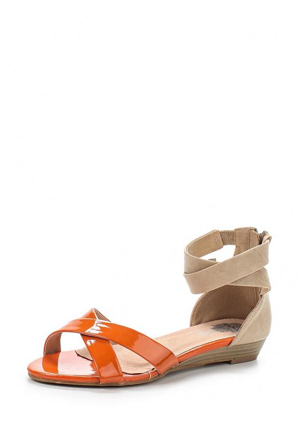 Сандалии Doca 72081 коричневые, оранжевые