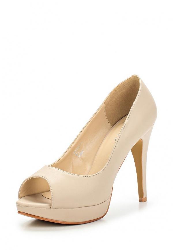 Туфли Stesso 60A-0081L-1A бежевые