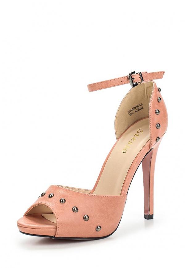 Туфли Stesso 623-0093B-1A розовые