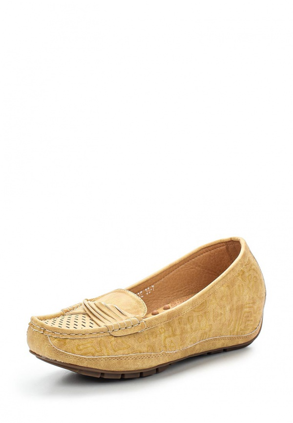 Туфли Wilmar 51-PZ-03 E жёлтые