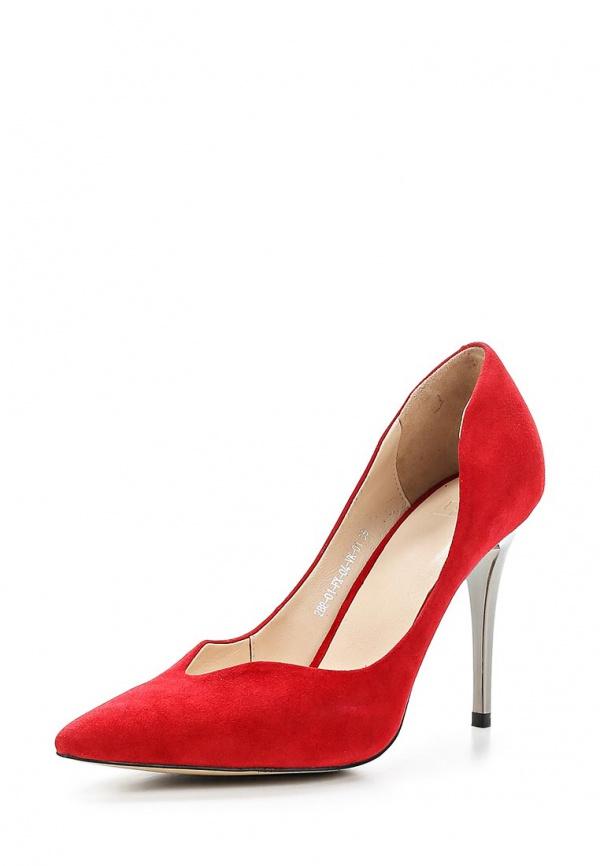 Туфли Calipso 288-01-FX-04-VK-01 красные