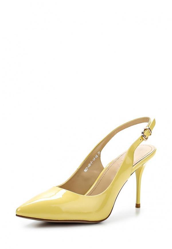 Босоножки Calipso 607-06-F-14-LK жёлтые